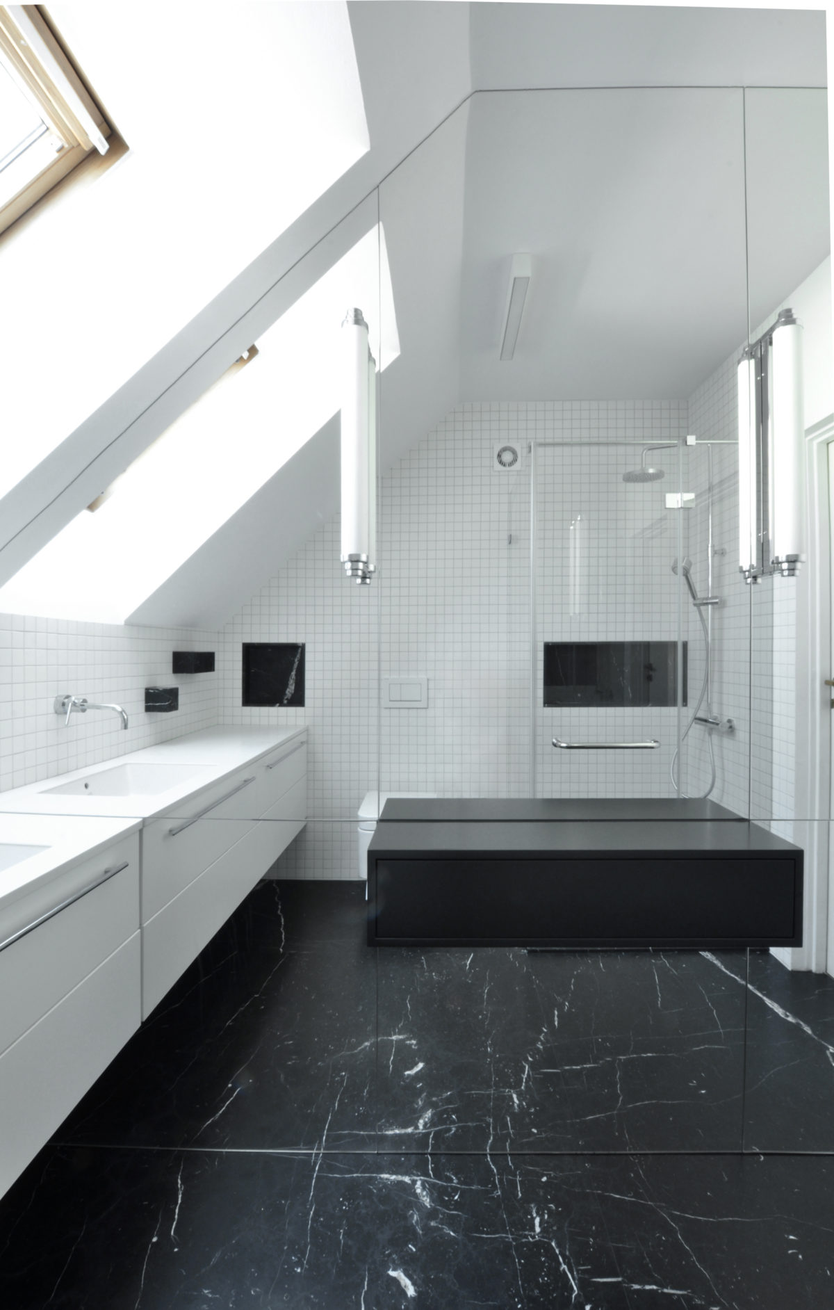 Łazienka Black&White
