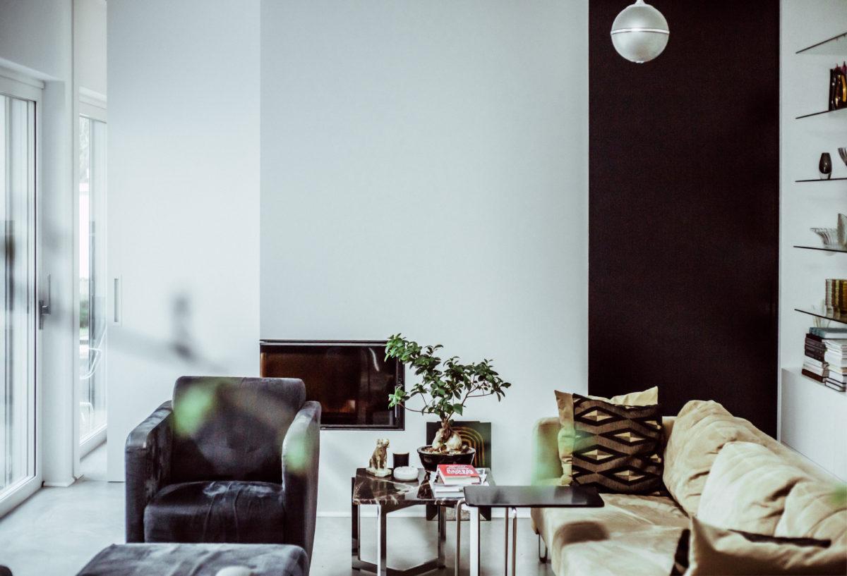 Dom w hołdzie moderny